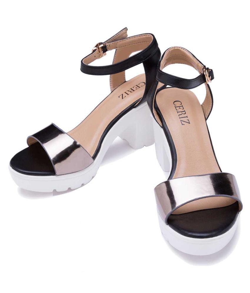 b33e7304ce6 Ceriz Multi Color Block Heels Price in India- Buy Ceriz Multi Color ...