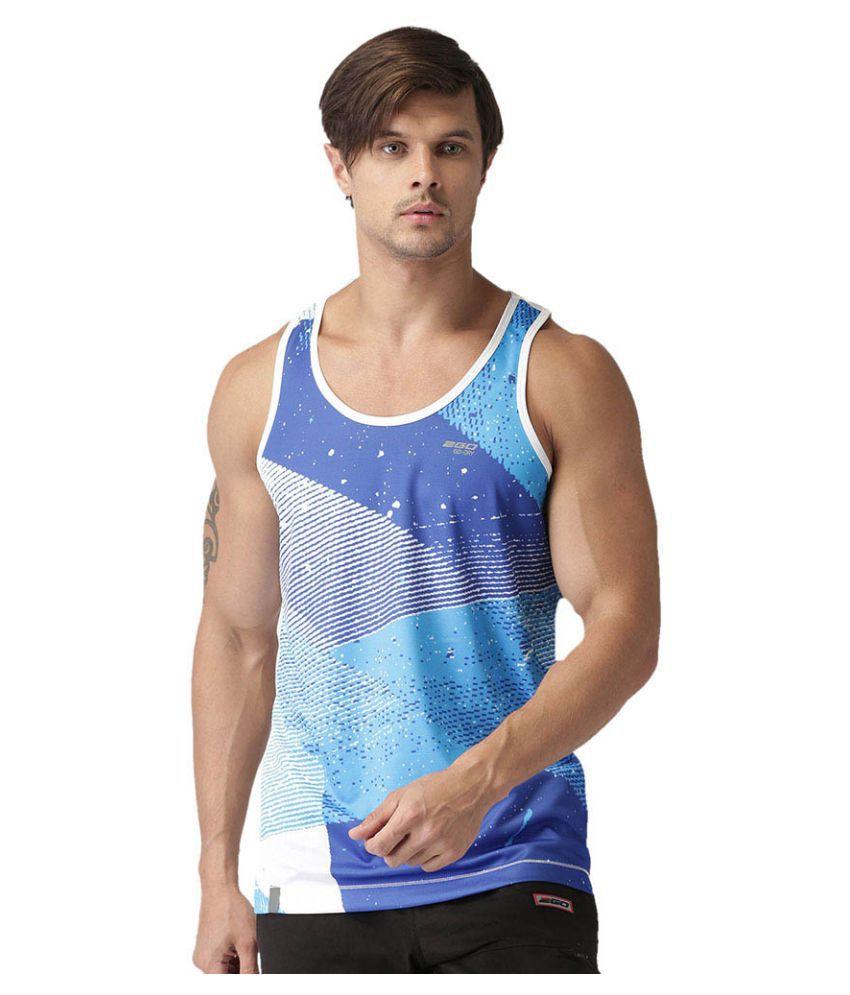 2GO Pace White Sleeveless T-shirt