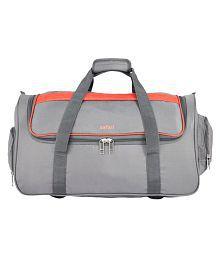Safari Grid Duffle Grey Size 65 cm Bag