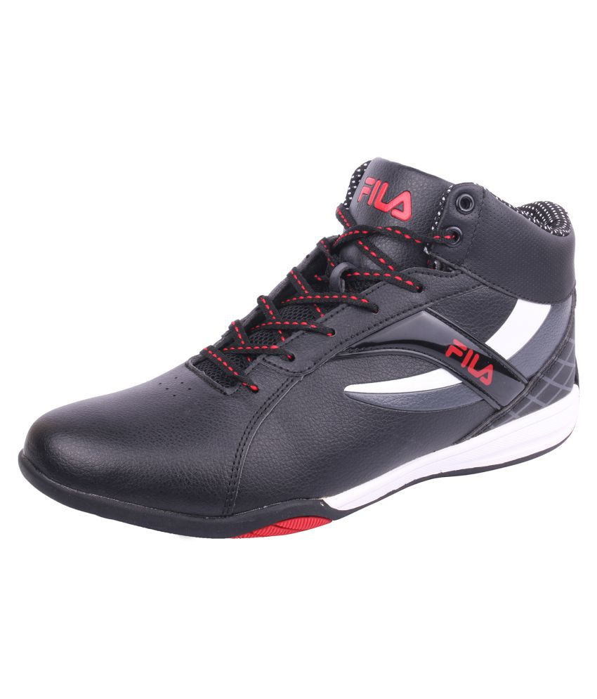 977273cf60b8 Fila Lifestyle Black Casual Shoes - Buy Fila Lifestyle Black Casual Shoes  Online at Best Prices in India on Snapdeal