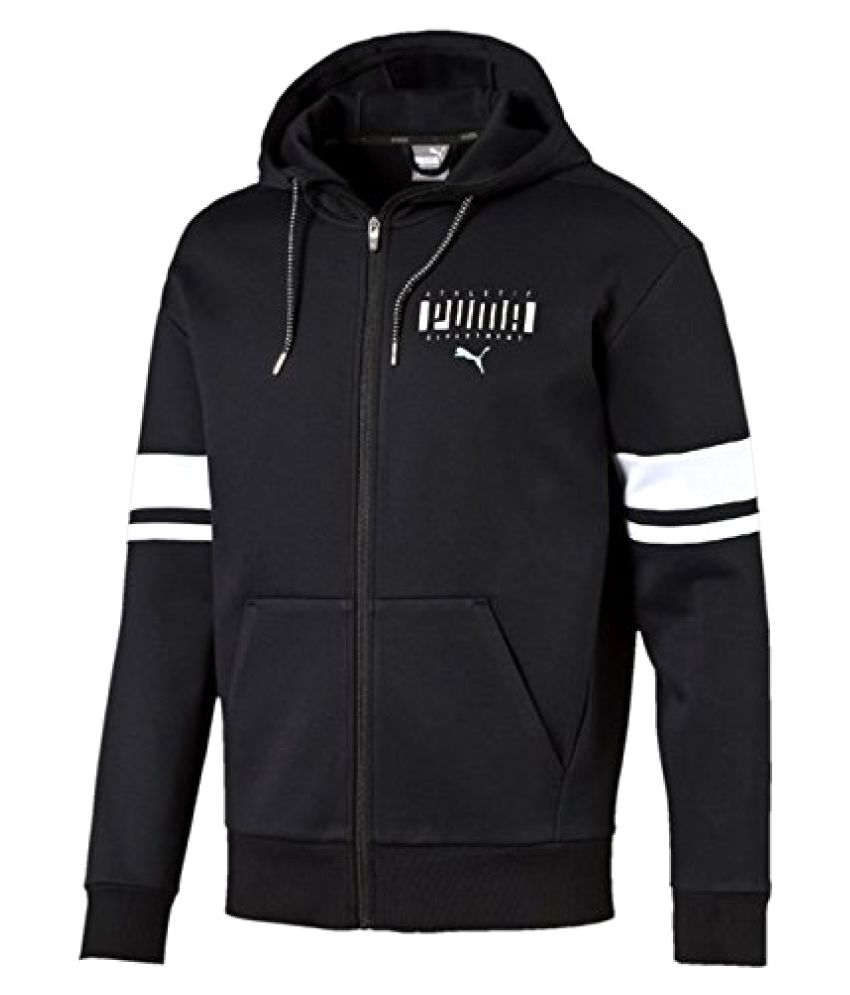 PUMA ATHLETIC FZ HOODY BLACK JACKET