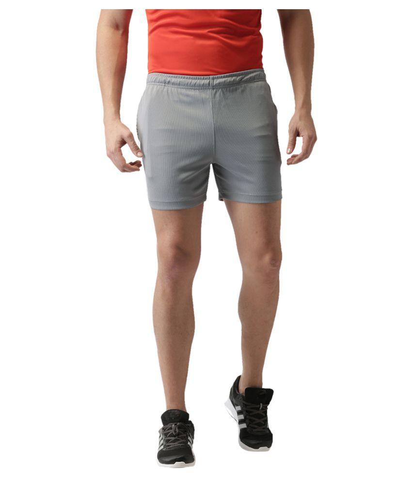 2GO Sweaty Grey GO Dry Running Shorts