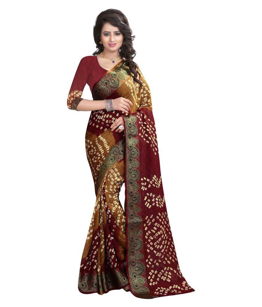 Dream Star Multicoloured Art Silk Saree