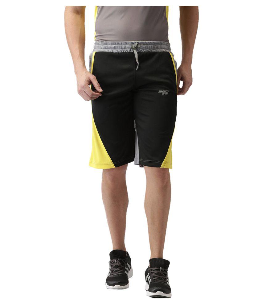 2GO Bold Black Basket Ball Shorts