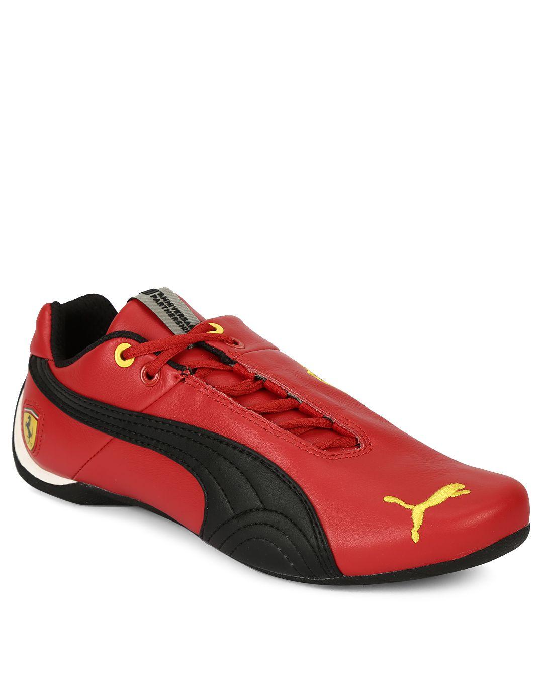 815d91e98882 Puma Red Ferrari Casual Shoes Price in India- Buy Puma Red Ferrari Casual  Shoes Online at Snapdeal
