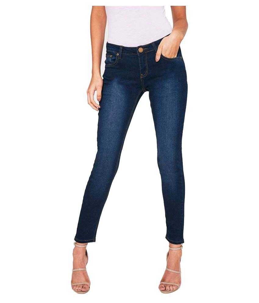 Ansh Fashion Wear Denim Lycra Jeans