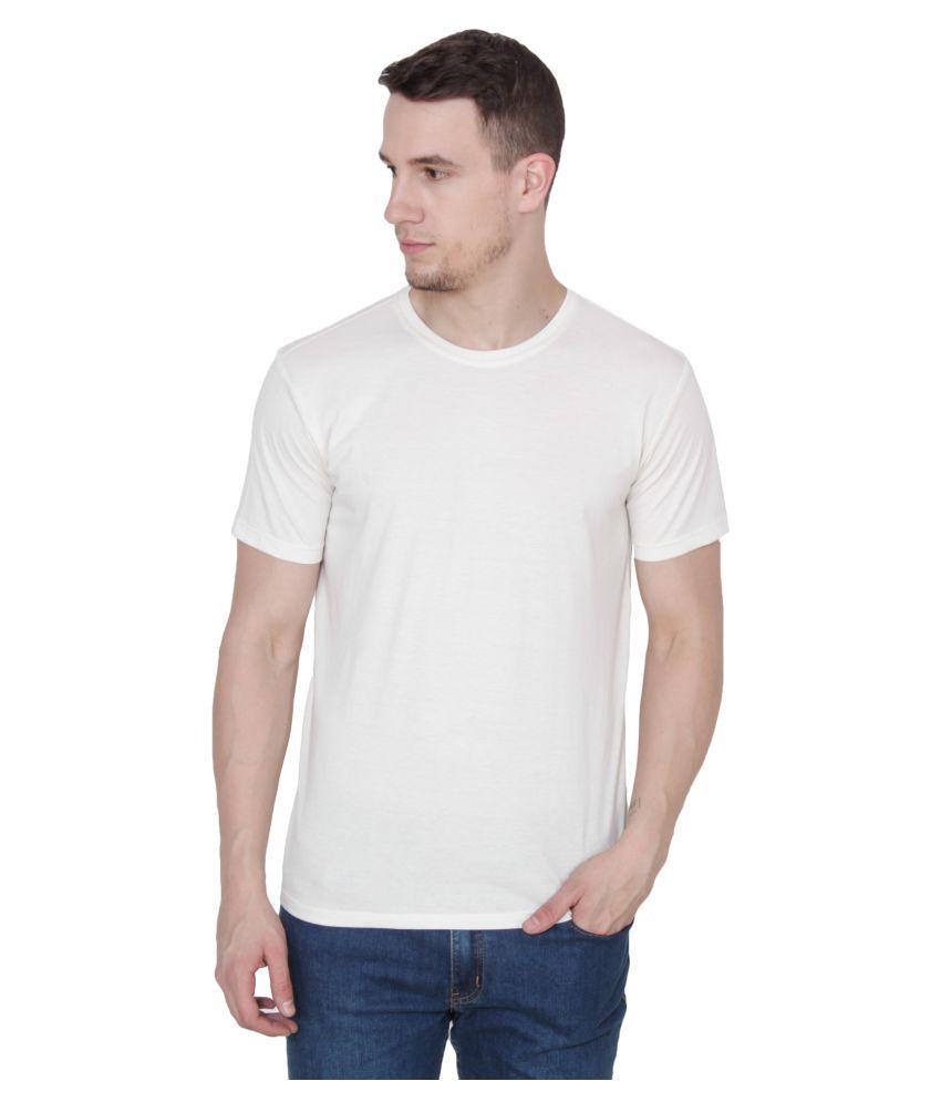 Ruse Off-White Round T-Shirt