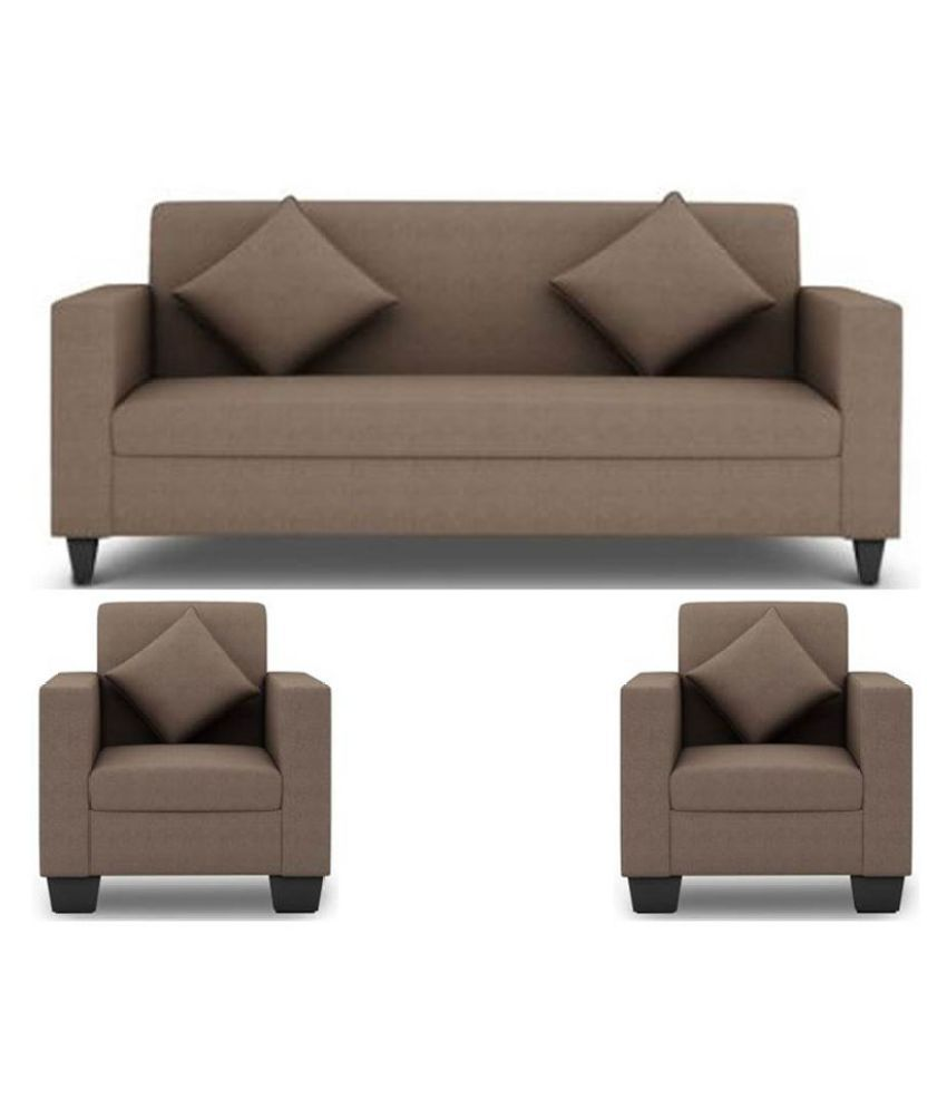 westido fabric 3 1 1 sofa set buy westido fabric 3 1 1 sofa set online at best prices in india. Black Bedroom Furniture Sets. Home Design Ideas