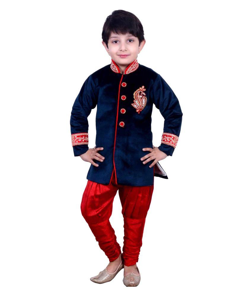 Ihram Kids For Sale Dubai: Kids Dresses Baby Clothing Boys Sherwani Style Kurta