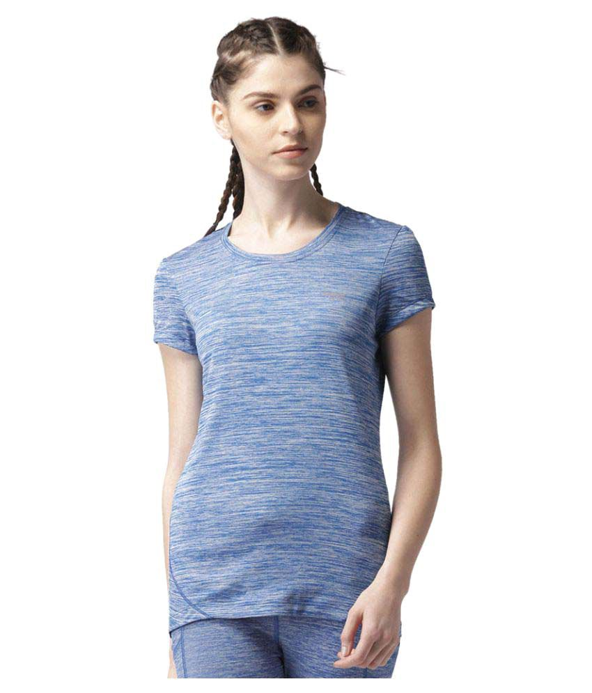 2GO Electric Blue Round neck Short sleeves T-shirt