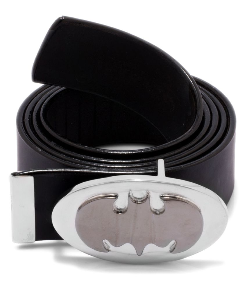 Dare Black Leather Casual Belts