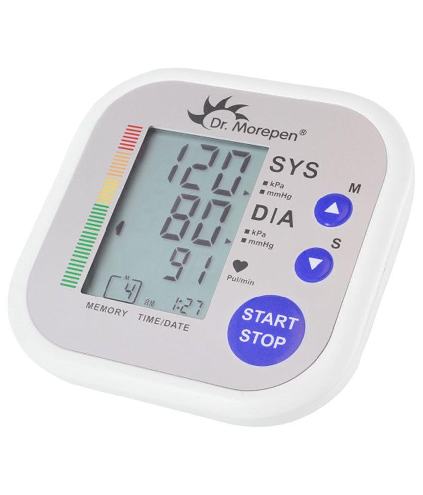 Dr Morepen BP 02 Blood Pressure Monitor