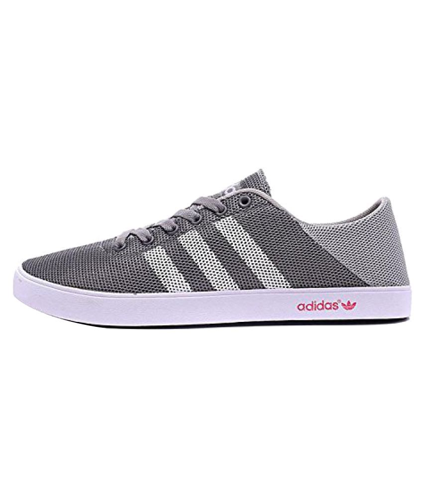 Adidas NEO Sneakers Gray Casual Shoes ...