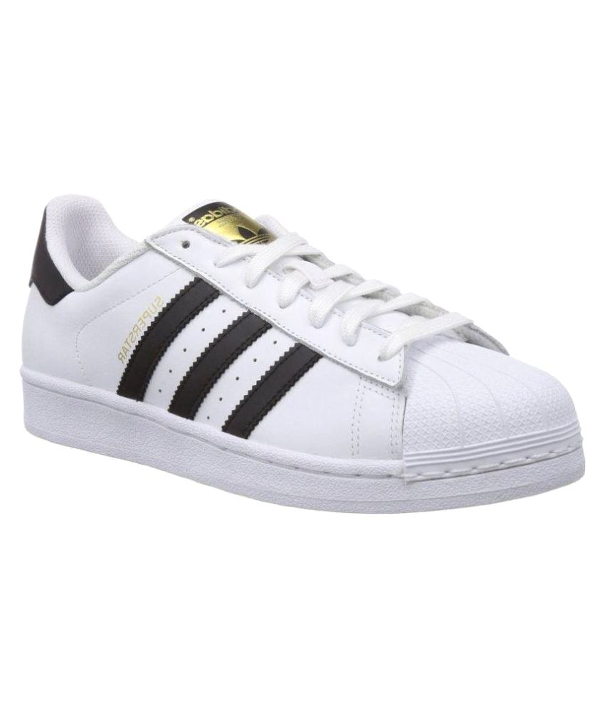 85ca1eb4c1 Adidas Superstar Sneakers White Casual Shoes - Buy Adidas Superstar  Sneakers White Casual Shoes Online at Best Prices in India on Snapdeal