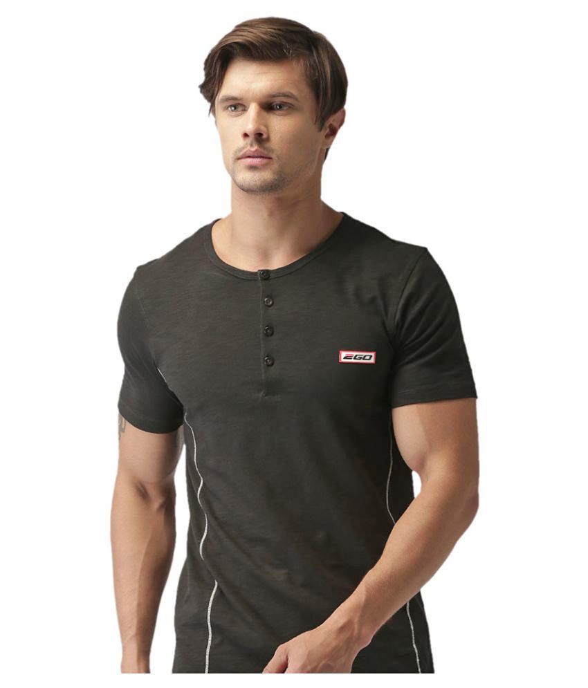 2GO Bold Black Half sleeves T-shirt