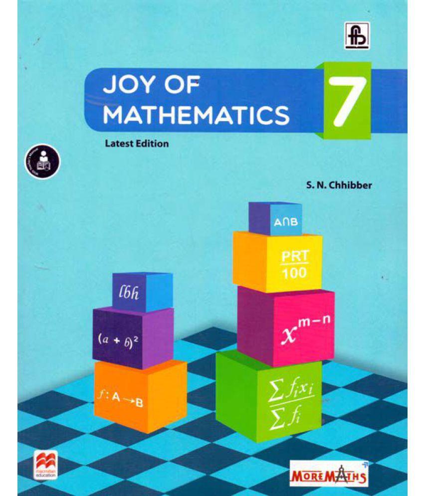 Joy Of Mathematics Class - 7: Buy Joy Of Mathematics Class - 7 ...