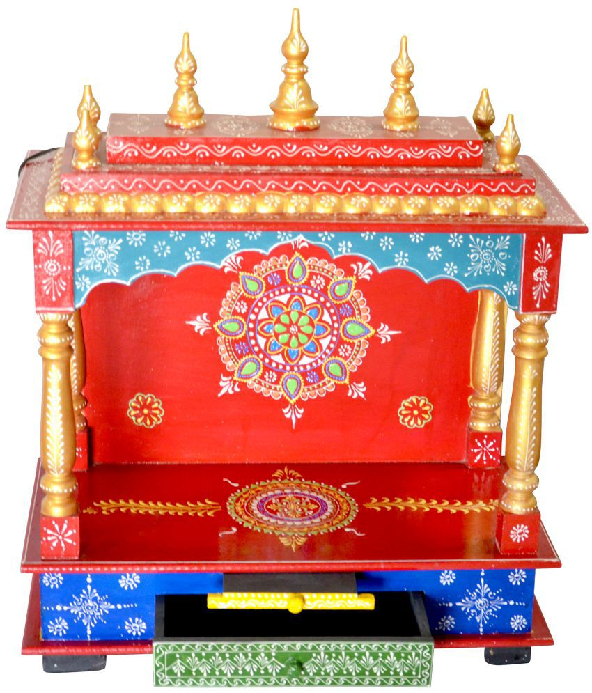New Star Home Decor Wood Hanging Mandir Buy New Star Home Decor Wood Hanging Mandir At Best