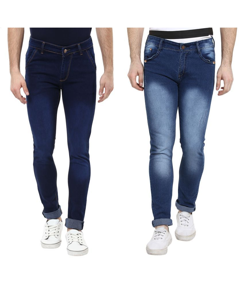 Urbano Fashion Blue Slim Jeans