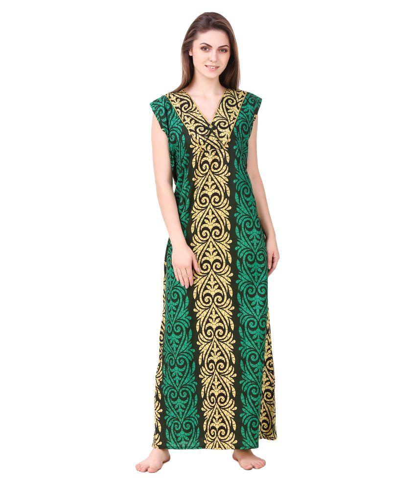 Masha Cotton Nighty & Night Gowns