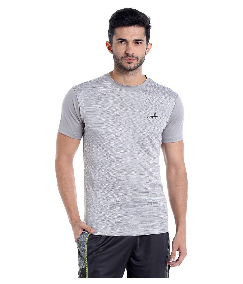 Fitz Grey Round T-Shirt