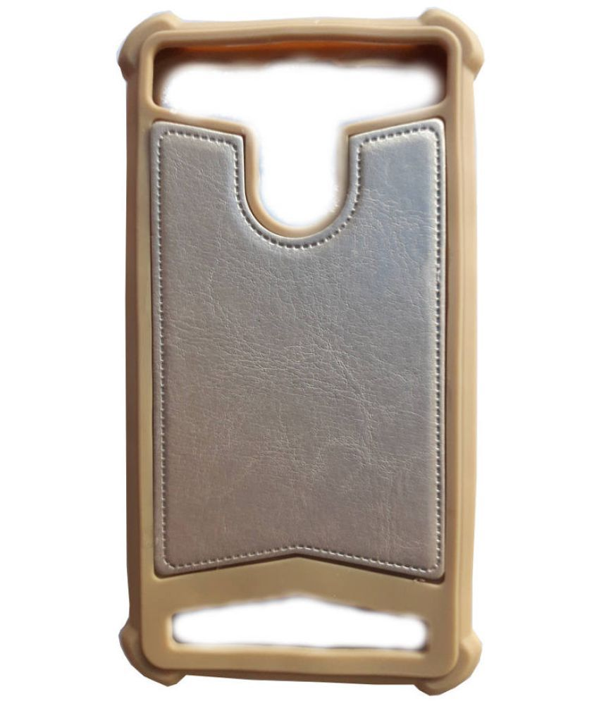 reputable site 7903b 10c59 Intex Aqua Fish Plain Cases AravStore - Golden - Plain Back Covers ...