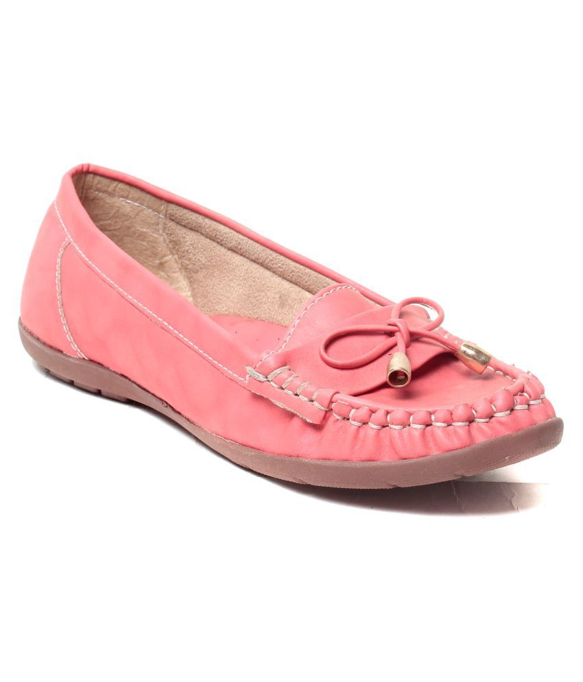 MSC Pink Casual Shoes