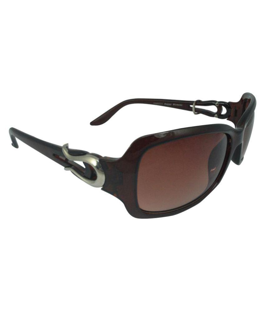 Polo House USA Brown Oval Sunglasses ( phWHW6531brn )