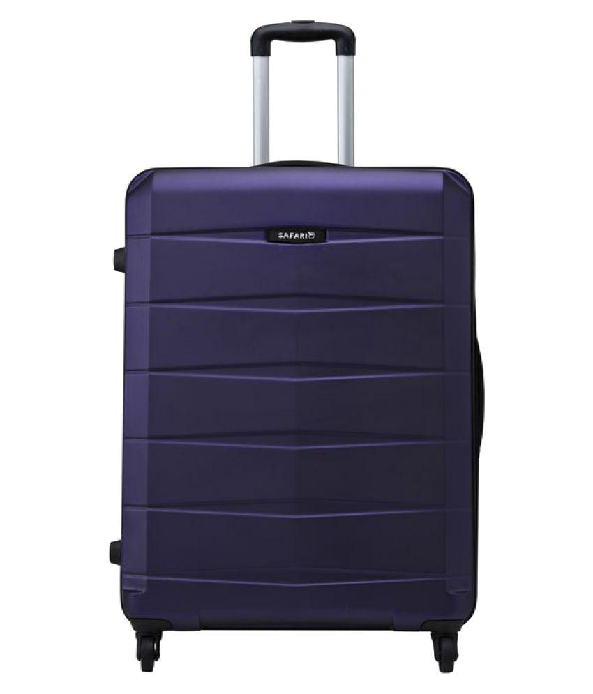 safari re gloss anti scratch purple medium 4 wheel hard. Black Bedroom Furniture Sets. Home Design Ideas