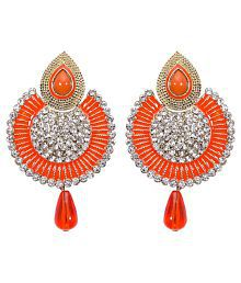 Jewels Gehna Traditional Non-Precious Funky Classic Earrings Set For Women & Girls