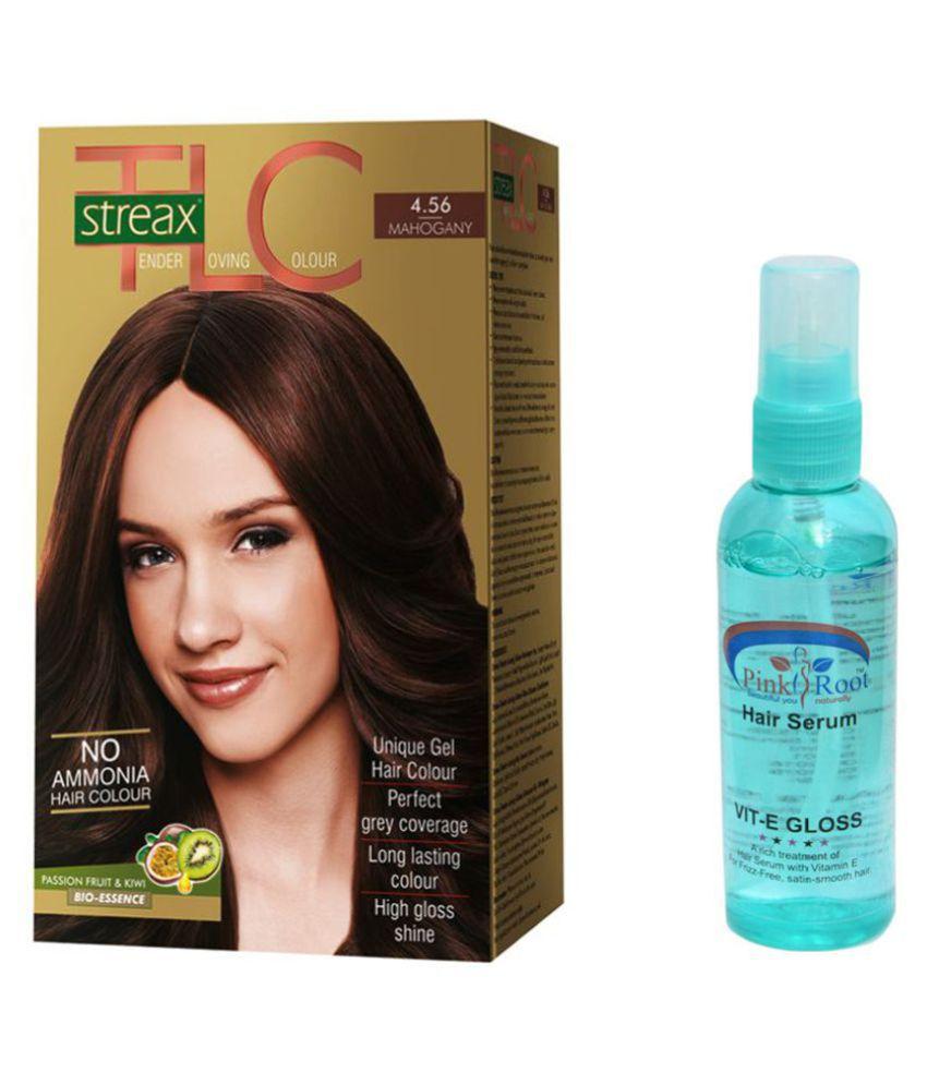 Streax Temporary Hair Color Walnut 170 Ml Pack Of 2 Buy Streax
