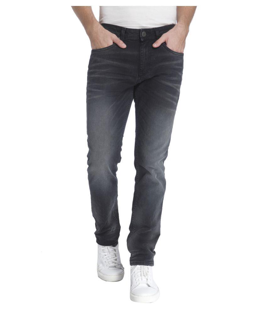 Jack & Jones Black Slim Jeans