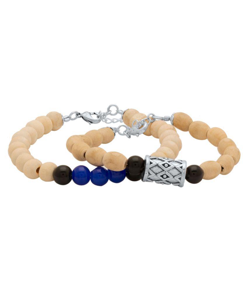 Dare  Combo Of Beaded Bracelet For Men