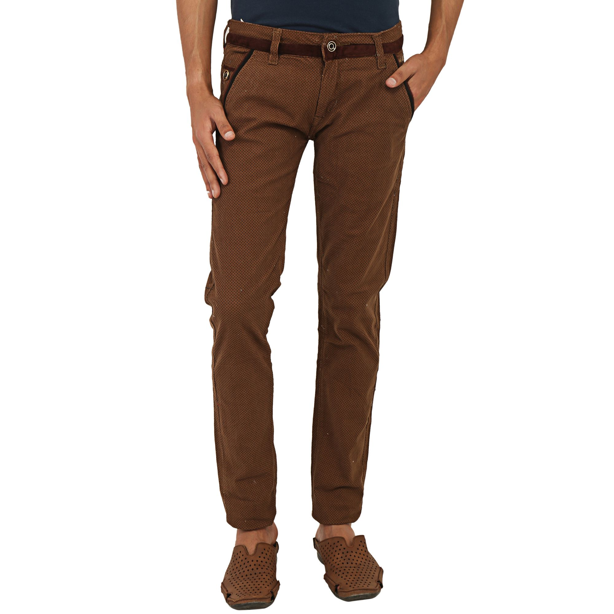 Immense Brown Slim Jeans