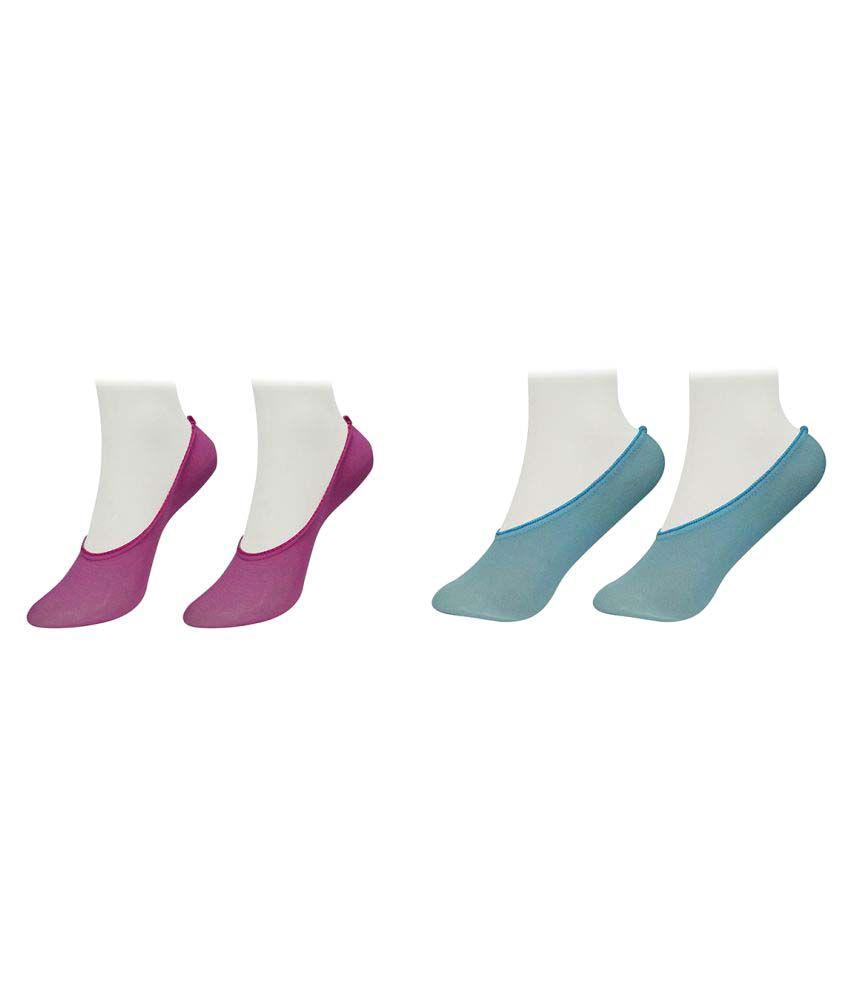 Gold Dust Latest Fancy Loafer Socks (2 Pair)