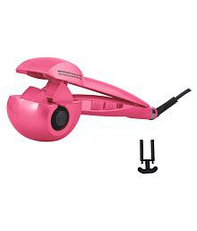 Gold Dust Perfect Hair Curler ( Pink ) Product Style