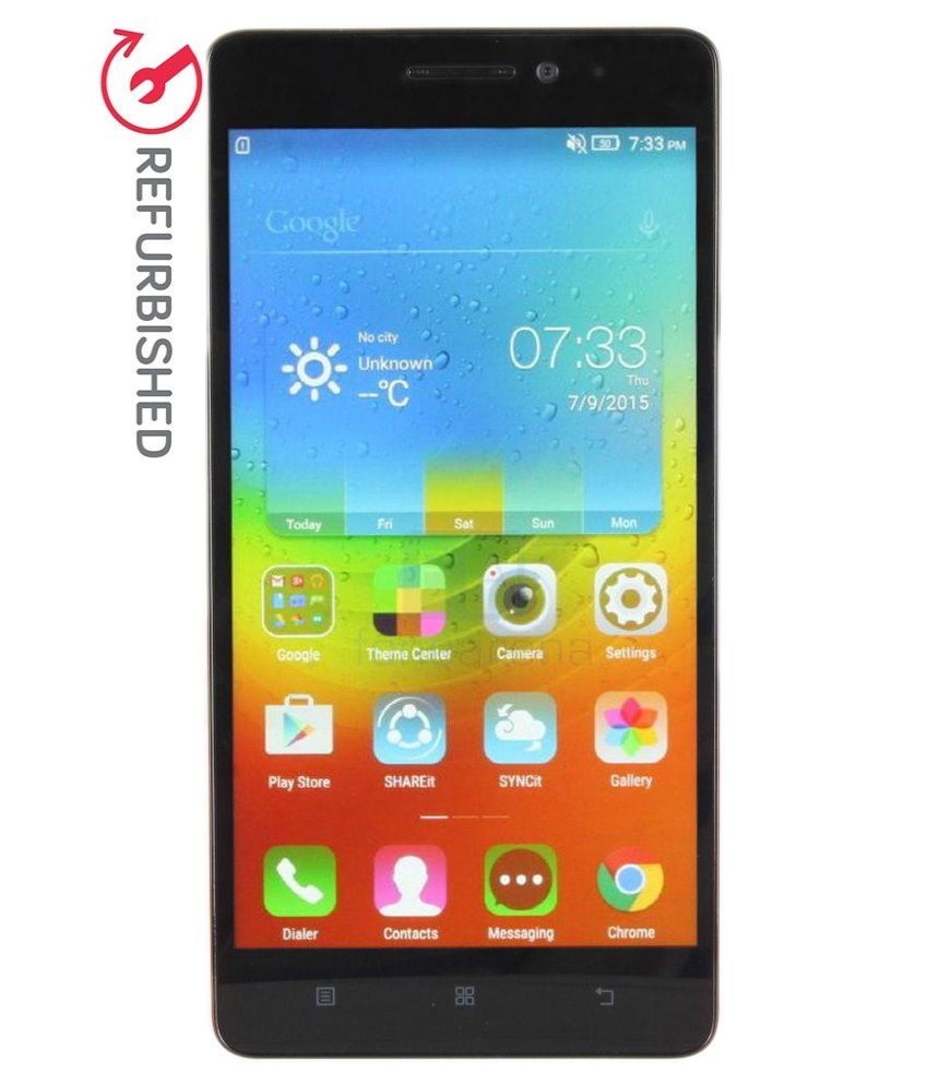 REFURBISHED Lenovo K3 Note 16  GB Black available at SnapDeal for Rs.6999
