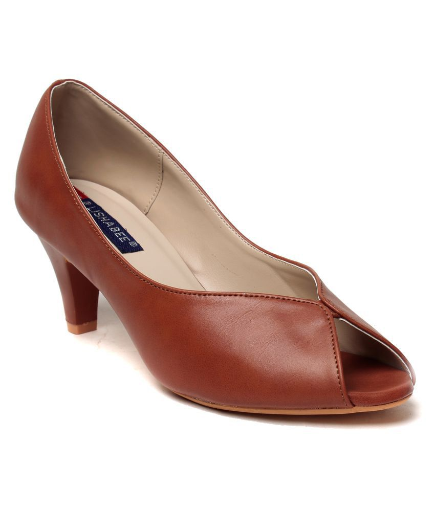 MSC Brown Kitten Heels