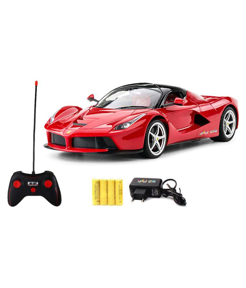 Tabby Toys Remote Control Racing Car With Opening Door Function