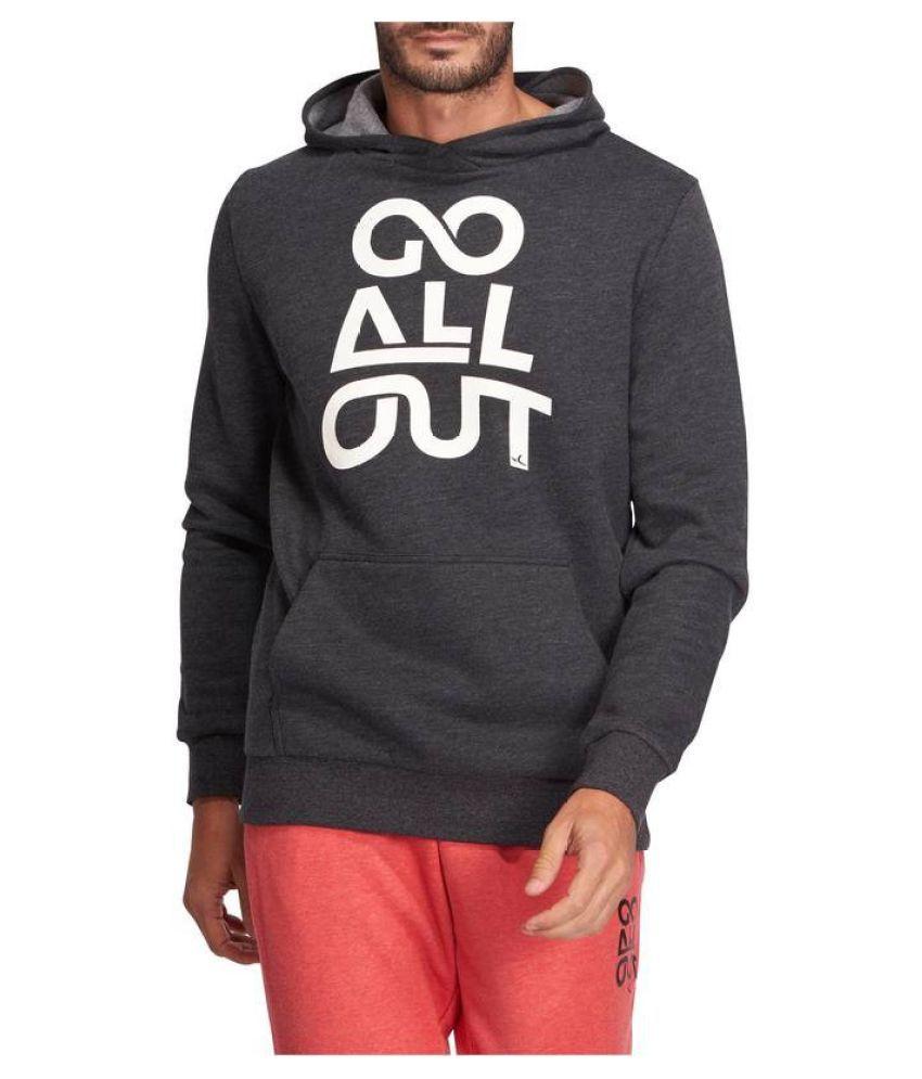 DOMYOS Hooded Gym and Pilates Sweatshirt