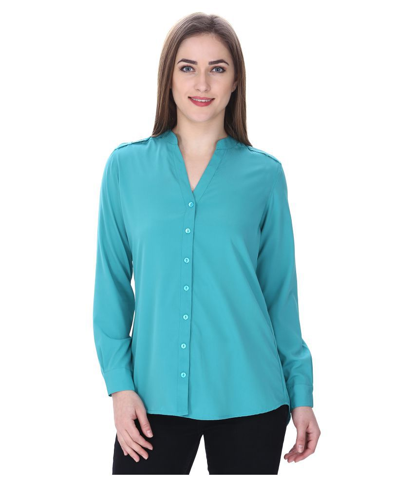 Mansi Collections Polyester Shirt