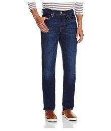 Levi's Blue Straight Jeans