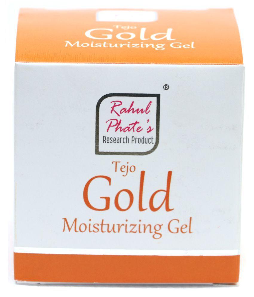 Rahul Phates Innovations Tejo-Gold Moisturizing gel 100g Moisturizer 100 gm