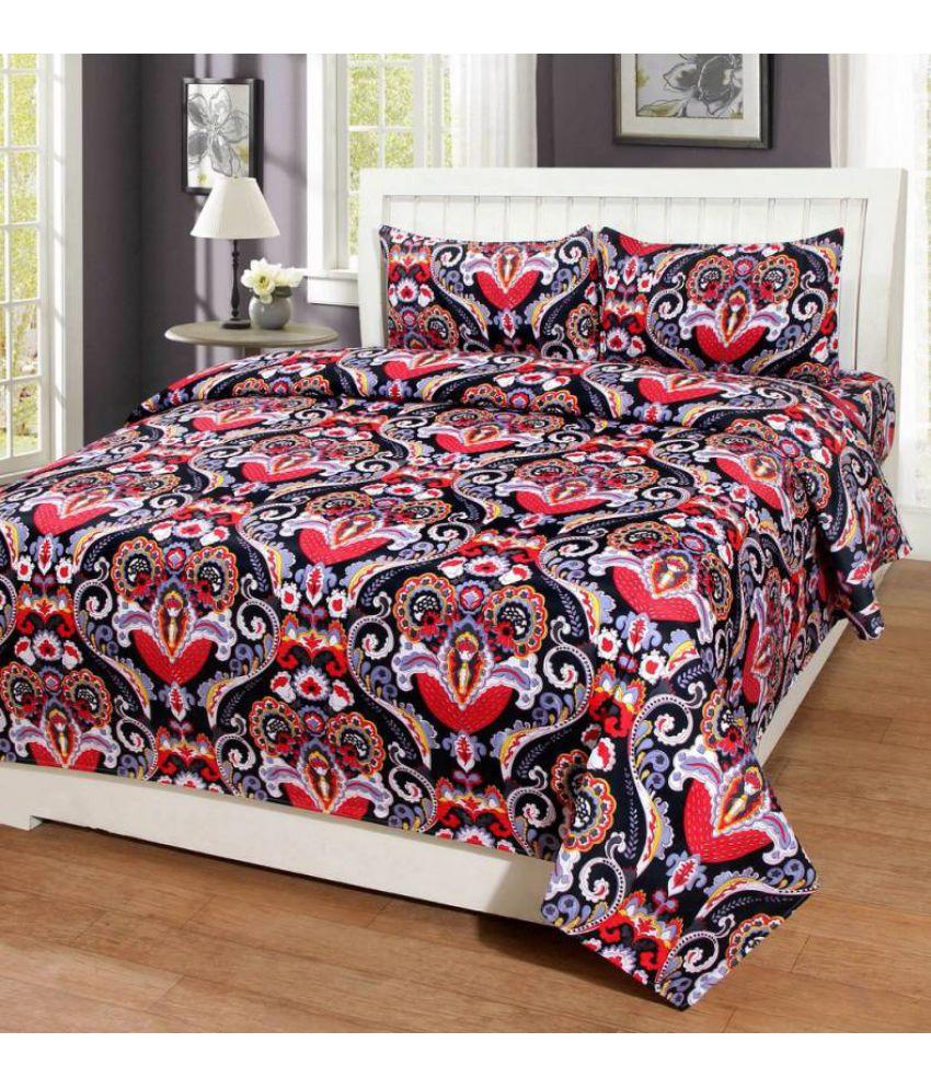 c3fb5dbca73 Zazzle King Poly Cotton Multicolor 3D Print Bed Sheet - Buy Zazzle ...