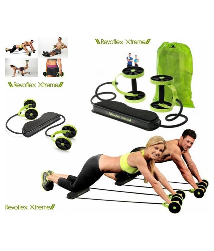 SP ENTERPRISES Complete Gym Exercise Kit Revoflex Home Gym
