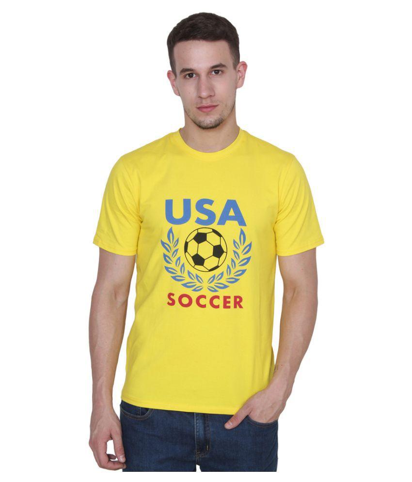 Pro Lapes Yellow Round T-Shirt