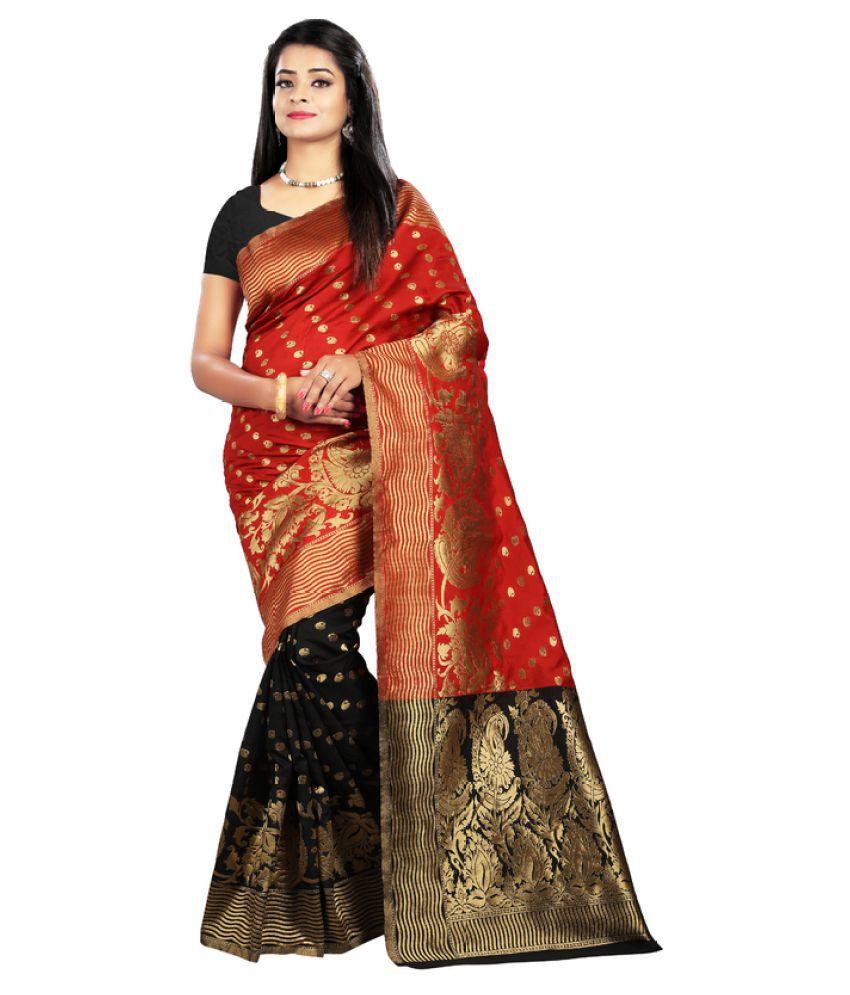 Saloni Designer Multicoloured Banarasi Silk Saree
