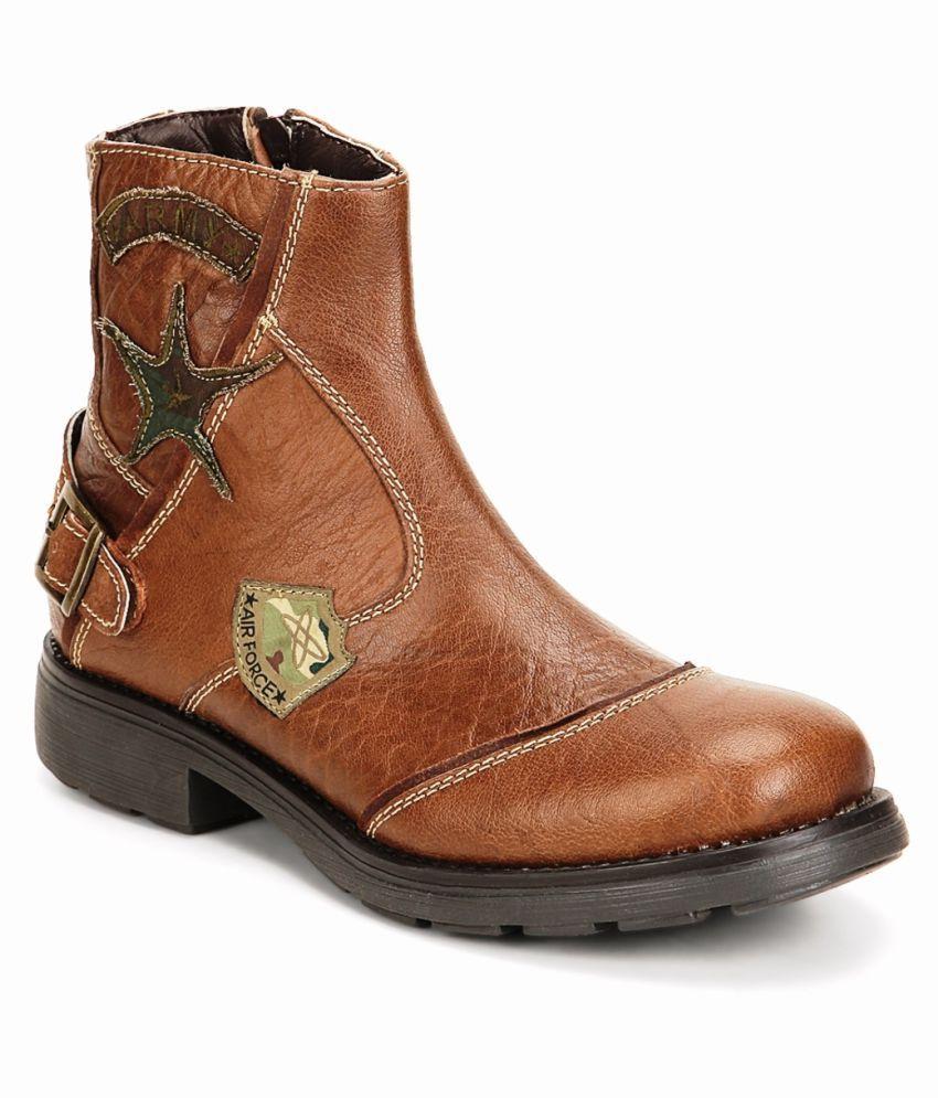 Buckaroo Tan Casual Boot