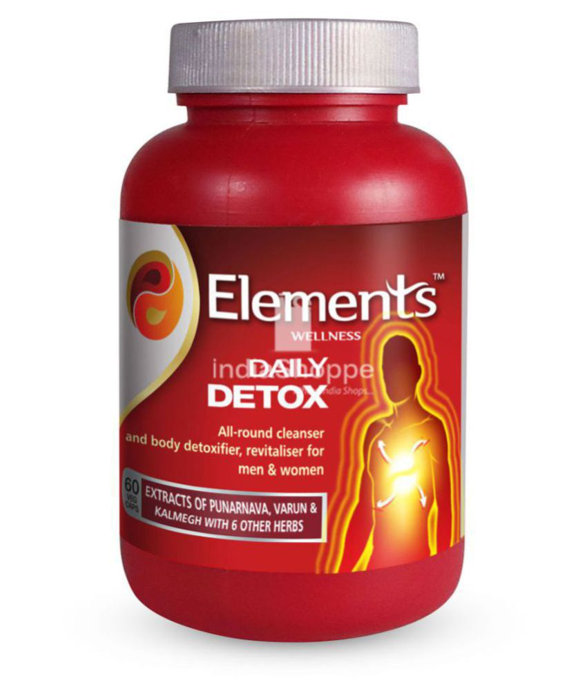 Elements Wellness DAILY DETOX 60 no.s Capsule  Buy Elements Wellness DAILY  DETOX 60 no.s Capsule at Best Prices in India - Snapdeal 27e2a45db