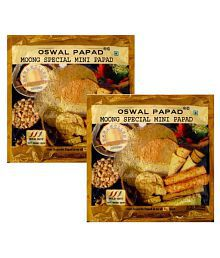 Oswal Papad Moong Special Mini Papad 200 Gm Pack Of 2