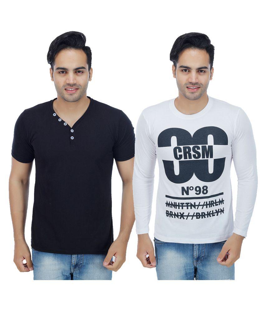Rakshita's Collection Multi Round T-Shirt